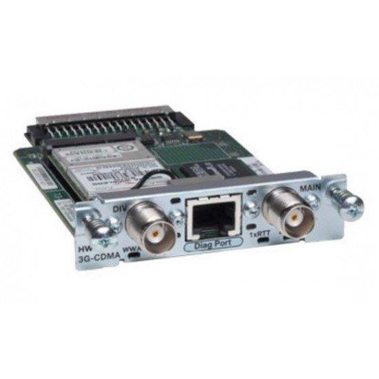 Cisco Wireless WAN High Speed 3G Interface Card HWIC-3G-CDMA-S