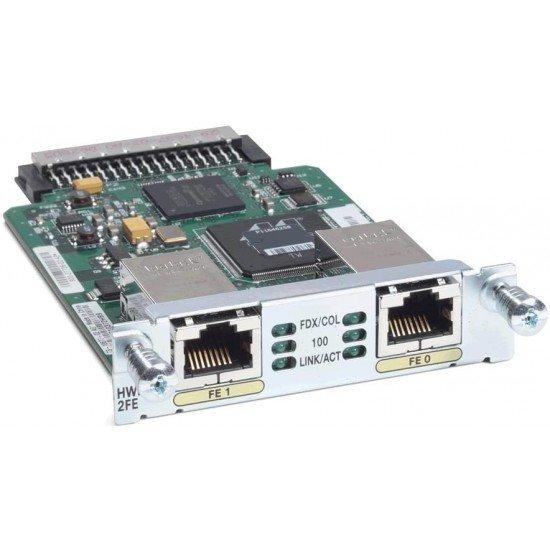 Cisco 2-Port Fast Ethernet High Speed WAN Interface Card HWIC-2FE